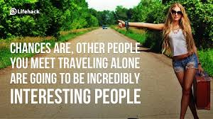 Travel Alone Quotes Fascinating 48 Awesome Quotes On Travelling Alone