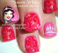 3 Nail Art Tutorials | DIY Snow White Nails | Short Nails with ...