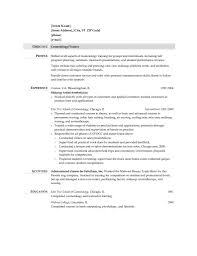 Resume Examples Templates Free Sample Detail Cosmetologist Resume
