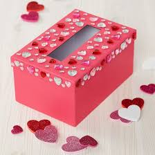 Valentine Decorated Boxes 100 Easy to make DIY Valentine Boxes Cute ideas for boys and girls 2