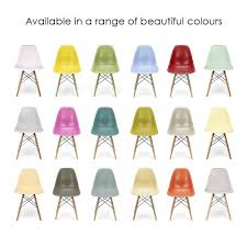 eames style chairs uk. eames inspired off white dsw style chair chairs uk