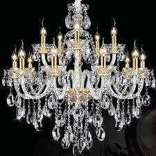 stylish crystal chandelier antique gold candle led light hotel villa italian chandeliers contemporary elegant chandeli