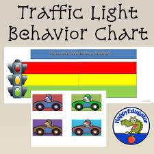 Traffic Light Chart Behaviour Behavior Chart Traffic Light For Classroom Management