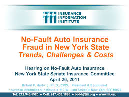 no fault auto insurance fraud in new york state trends challenges costs hearing