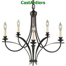 oil rubbed bronze chandelier
