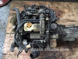 Used Engine Nissan Tenaro Td27 A/t 4wd (white Cover) | Japanese Used ...