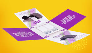 unique brochures the best brochure design layout idea maltese cross newton print