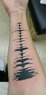 Just Got This Tattoo Its A Soundwave From Runaway Specifically