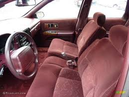Burgundy Red Interior 1996 Chevrolet Caprice Classic Sedan Photo ...