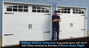 brandon gallery doors from clopay