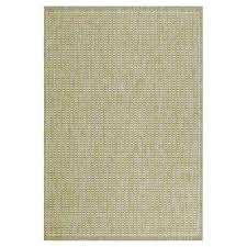 saddlestitch green natural 4 ft x 5 ft area rug saddlestitch
