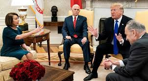 Office meeting pictures Mike Pence Uproxx Trump Pelosi Schumers Oval Office Meeting Ends In temper Tantrum