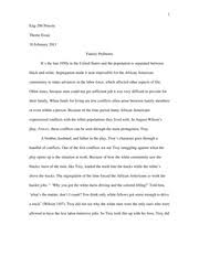 discussion essay troy maxson the villain or hero in a drama or  4 pages theme essay fences