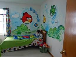 Angry Birds Bedroom By PainterSam ( Yeah Me). A Special Request From My  Favorite