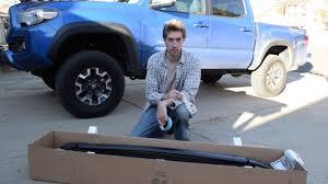 2017 Tacoma Roof Rack Install - YouTube