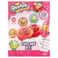 Shopkins Cupcake Kit 195g Tesco Groceries