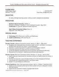 Cover Letter For Daycare Worker No Experience New Resumes Preschool