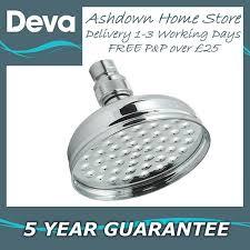 deva heah02 5 122mm chrome a rose shower head with swivel joint aka tsf04