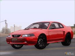 1999 Ford Mustang Cobra Clean Mod for GTA San Andreas