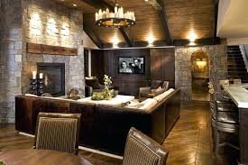 Rustic Basement Ideas Family Room Cheap