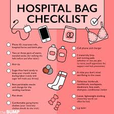 Hospital Bag Checklist What To Pack In Hospital Bag