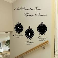 >a moment in time wall art stickers
