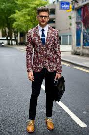 Mens Patterned Blazers
