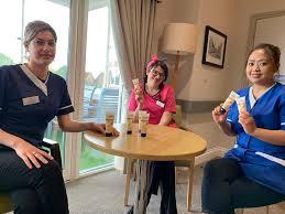 Thank you Helen, Tom, Olivia and Lauren... - Ridgeway Rise Care Home    Facebook