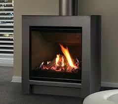 free standing gas log fireplace free standing gas fireplace insert