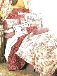 red toile bedding red bedding photo 3 of 9 french duvet 3 best bedding ideas on french country red toile bedding uk