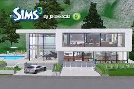 tremendeous sims 3 modern mansion floor plans best of modern house floor plans sims 3 new home plans design