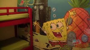 Nick Hotel SpongeBob SquarePants Family Suite Room Tour In Orlando   YouTube