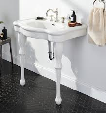 victorian console sink