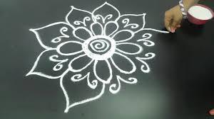 Telugu Muggulu Designs With Dots Telugu Muggulu Latest Creative Muggulu Designs Latest