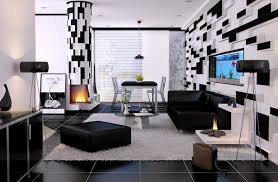 modern living room black and white. Black And White Living Rooms Modern Room