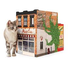 Cat House Brooklyn Pet House Cat House New York Architecture Uncommongoods