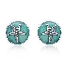 BAMOER <b>100</b>% <b>925 Sterling Silver</b> Fantasy Starfish Round Small ...