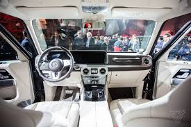 Mercedes maybach g650 landaulet interior new mercedes g class 2017 interior watch in ultrahd subscribe. We Climbed Into The New Mercedes Benz G Wagen The Verge
