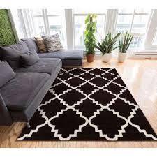 sydney lulu s lattice trellis black 3 ft x 5 ft modern area rug
