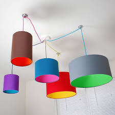 colorful lamp shade 25 unique lampshades ideas on diy 9