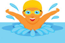 Image result for swimming clipart