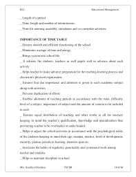 iii educational management the school works 14 iii 1 educational