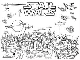 Star Wars Coloring Pages The Force Awakens And Free Wpvoteme