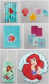 Exceptional Little Mermaid Bathroom Rug Interior 47 Beautiful Little Mermaid Shower  Curtain Sets Little