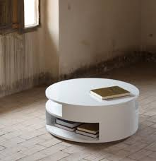 coffee table modern white gloss coffee table with large storage