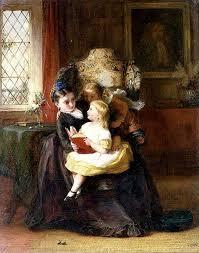 Little Girl Mother's Helpers by George Bernard Oneil Art Prints Art