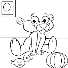 Small Picture Baby Pink Panther Coloring Pages Baby Pink Panther Coloring Pages