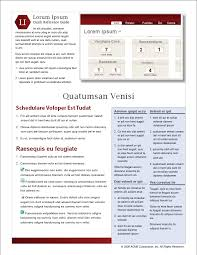 Quick Reference Guides Templates Free Download