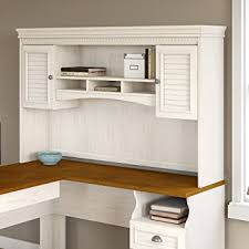 white l shaped desk with hutch. Brilliant Hutch L Shaped Desk With Hutch Stylish Amazon Com Fairview For In Antique  White Regard To 24 On M