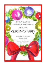 pany party invitations also holiday dinner invitation wording for office templates wordin